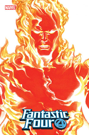Fantastic Four #24 - The Human Torch (9/30, $3.99)