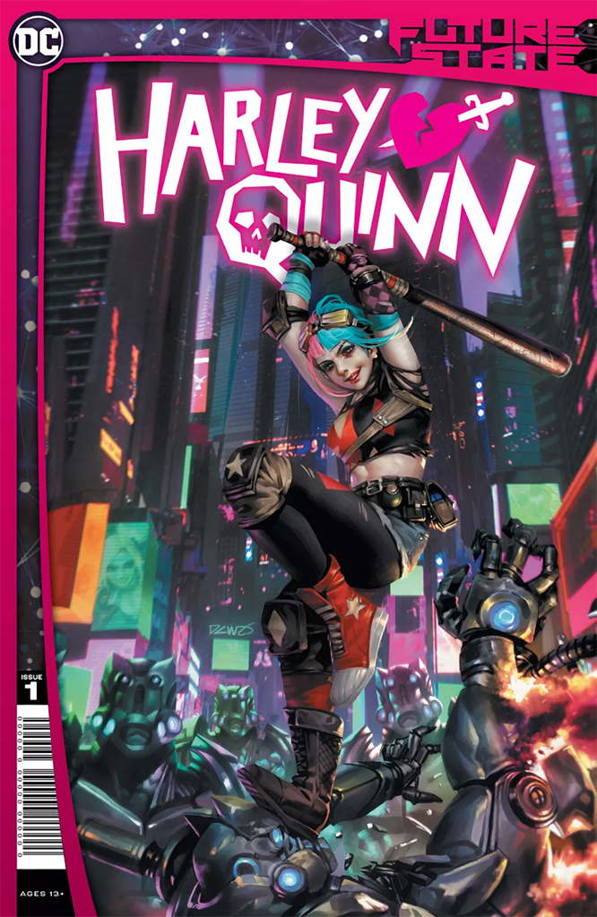 Future State: Harley Quinn #1 (of 2) (Jan. 6, $3.99)