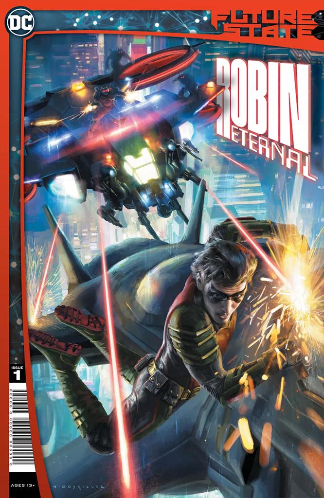 Future State: Robin Eternal #1 (of 2) (Jan. 13, $3.99)