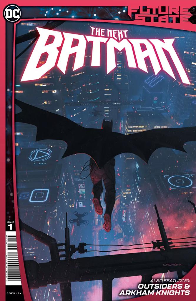 Future State: The Next Batman #1 (of 4) (Jan. 6, $7.99)
