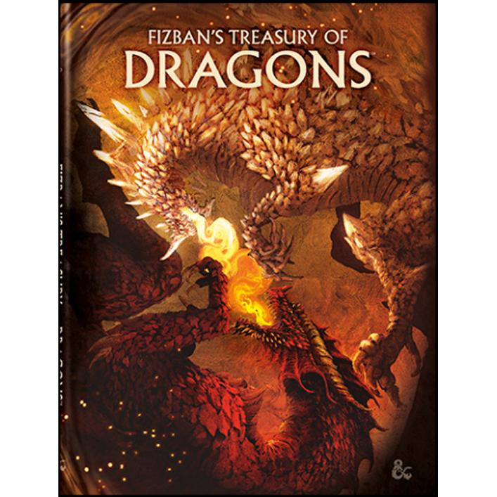Pre-order D&D: Fizban's Treasury of Dragons (Alt. Cover) ($49.95)