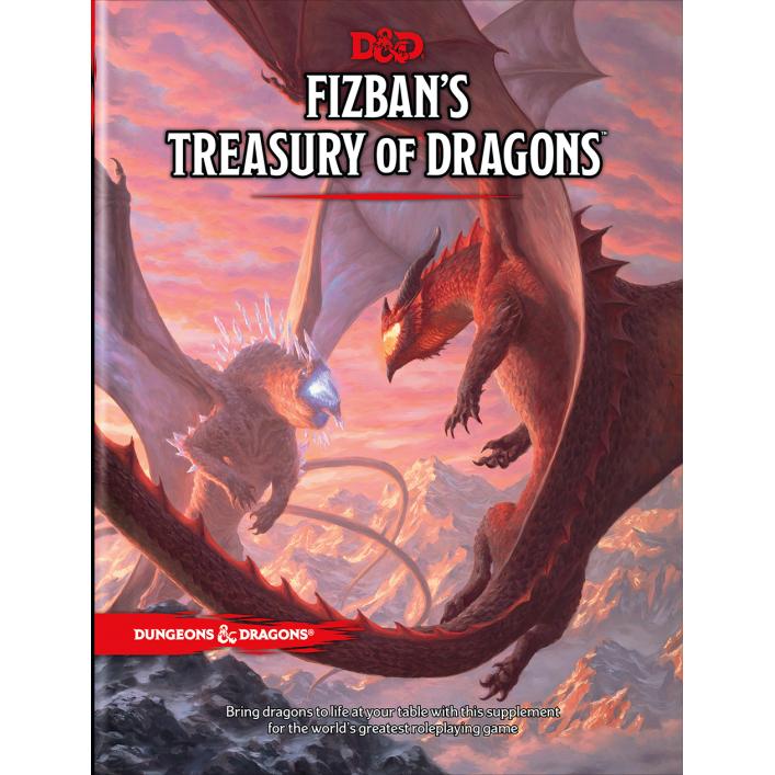 Pre-order D&D: Fizban's Treasury of Dragons ($49.95)