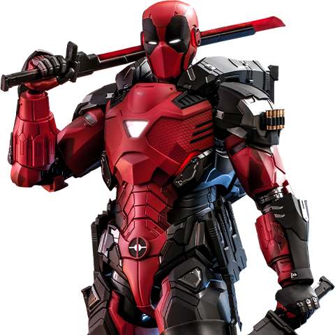 Pre-order Hot Toys: Armorized Deadpool ($405.00)