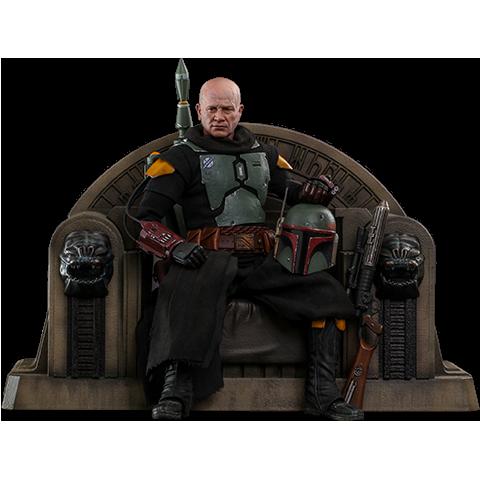 Pre-order Hot Toys: Boba Fett (Repaint Armor) & Throne ($390.00)