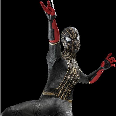 Pre-order Hot Toys: Spider-Man (Black & Gold Suit) ($270.00)