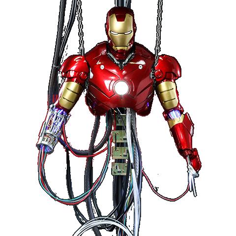 Pre-order Hot Toys: Iron Man Mark III (Construction Version) ($195.00)