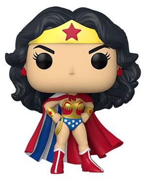 POP Heroes: WW 80th - Wonder Woman (Classic w/Cape)