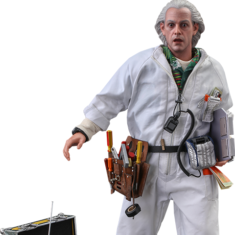 Pre-order Hot Toys: Doc Brown (Deluxe Version) ($290.00)