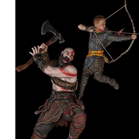 Pre-order Sideshow 1:10 Statue By Iron Studios: Kratos and Atreus  ($200.00)