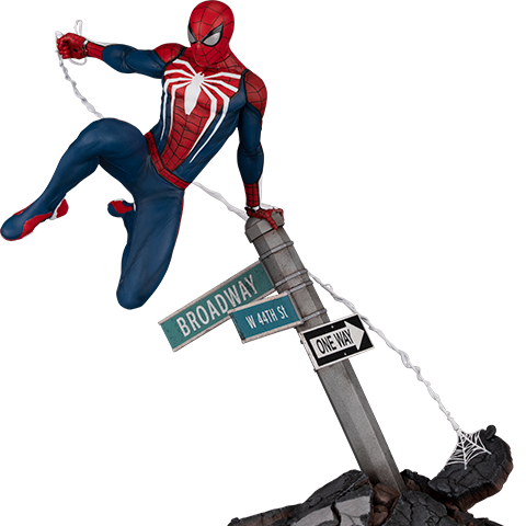 Pre-order Sideshow Sixth Scale Diorama By PCS: Spider-Man (Advanced Suit) ($450.00)
