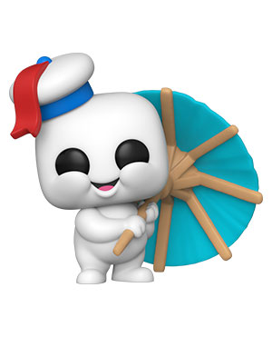 POP Movies: Ghostbusters: Afterlife - Mini Puft with Cocktail Umbrella