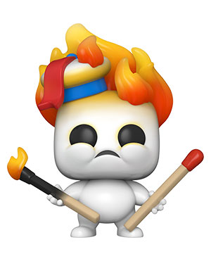 POP Movies: Ghostbusters: Afterlife - Mini Puft on Fire