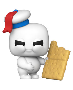 POP Movies: Ghostbusters: Afterlife - Mini Puft with Graham Cracker