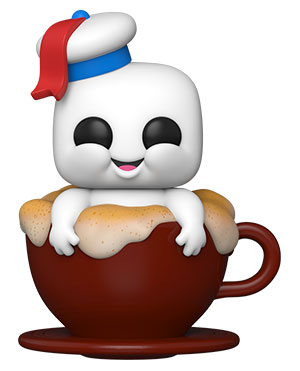 POP Movies: Ghostbusters: After - Mini Puft in Cappuccino Cup