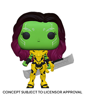 POP Marvel: What If...? - Gamora with Blade of Thanos