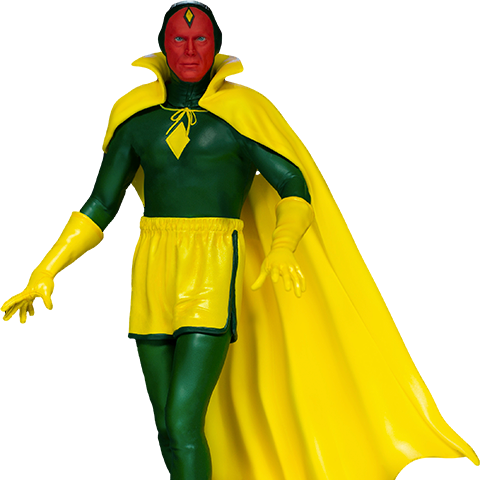 Pre-order Sideshow 1:10 Scale Statue by Iron Studios: Vision (Halloween Version) ($150.00)